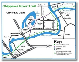 Chippewa River Trail | City of Eau Claire, Wisconsin on