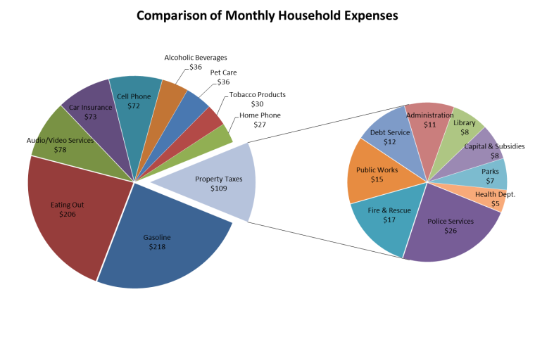 Monthly Household Expenses