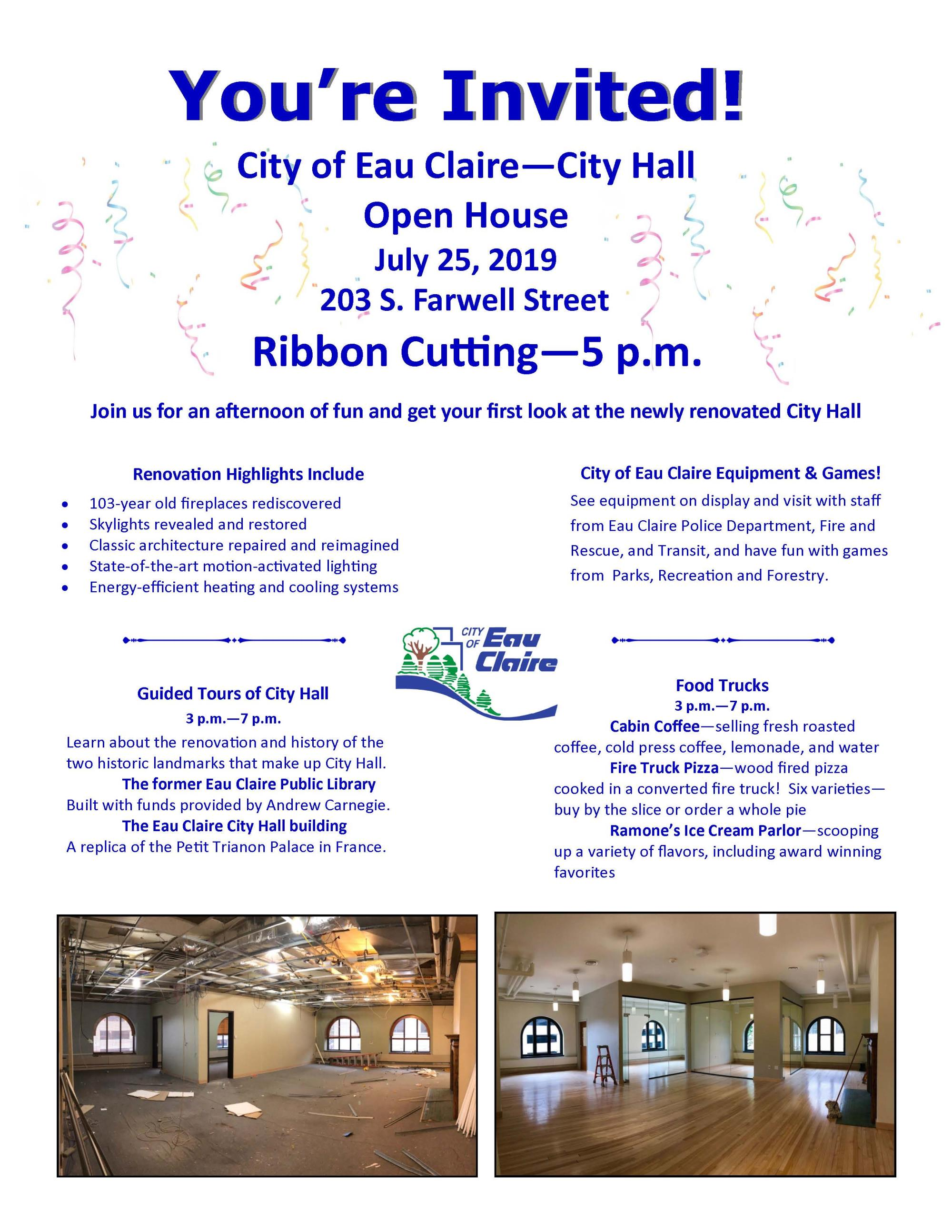 City Hall--Open House Invite pic--2019
