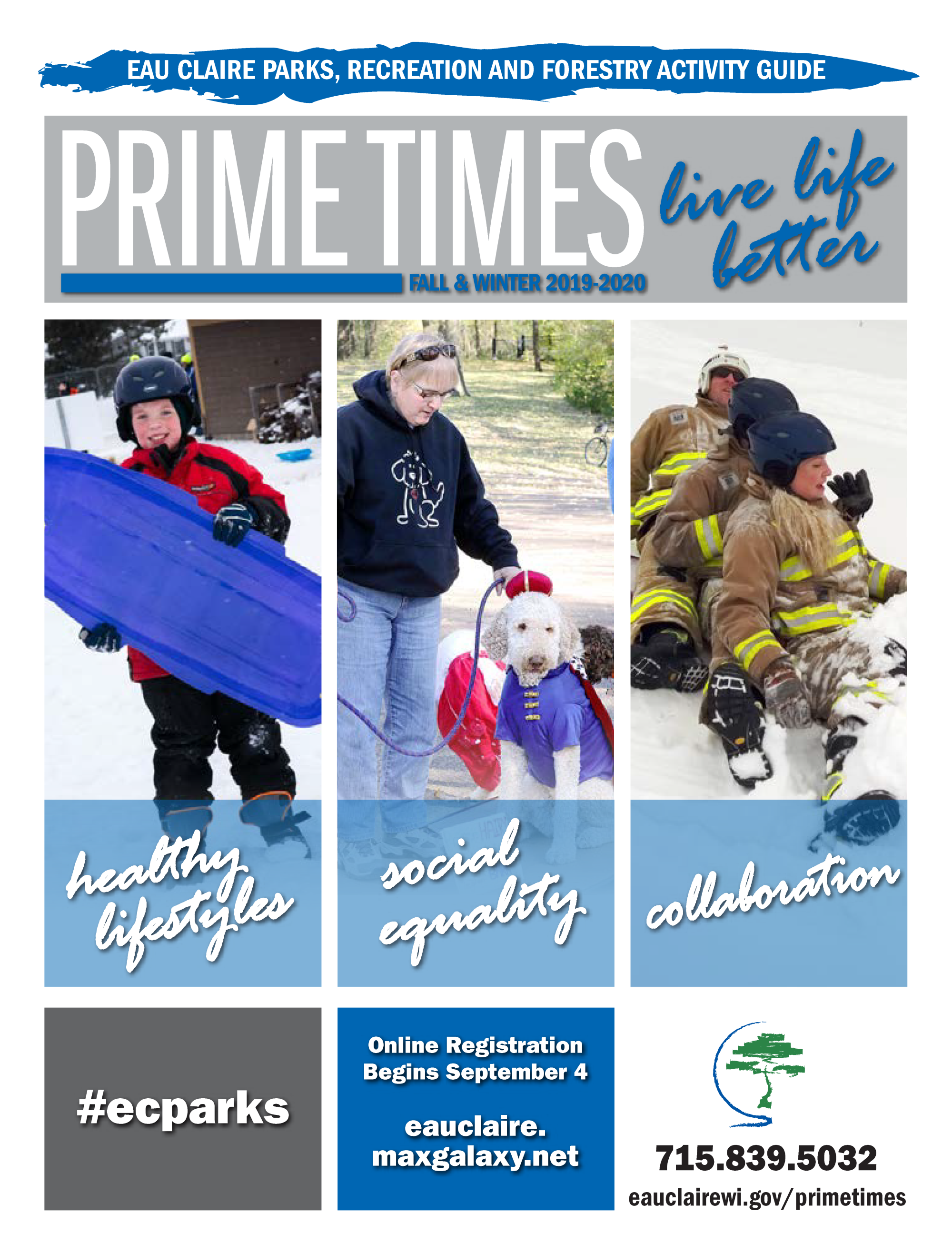 Picture of Cover Page of Fall 2019-Winter 2020 Prime Times