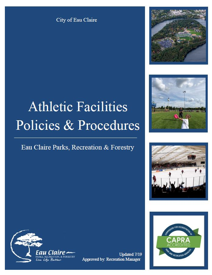 Athletic Faciilities Policies and Procedures