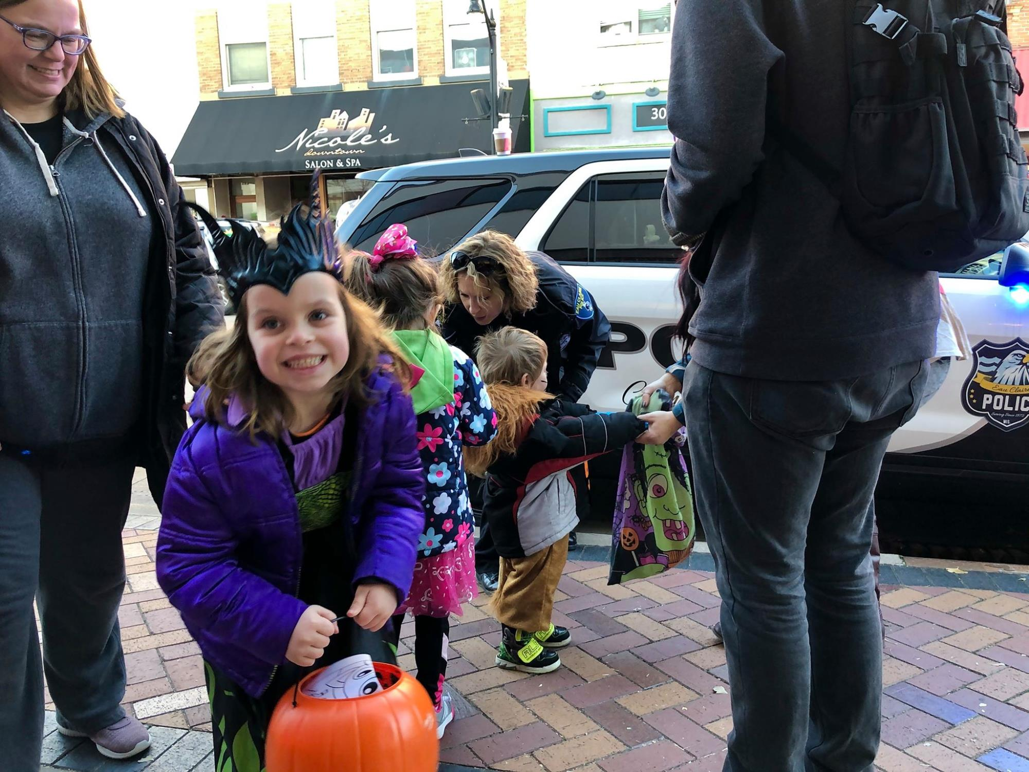 Halloween in Downtown Eau Claire