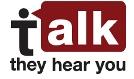 Talk they hear you logo