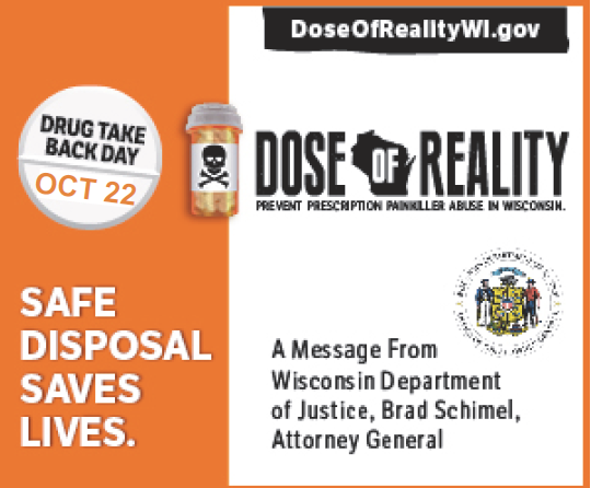 Drug Take Back - Dose of Reality 10-22-2016