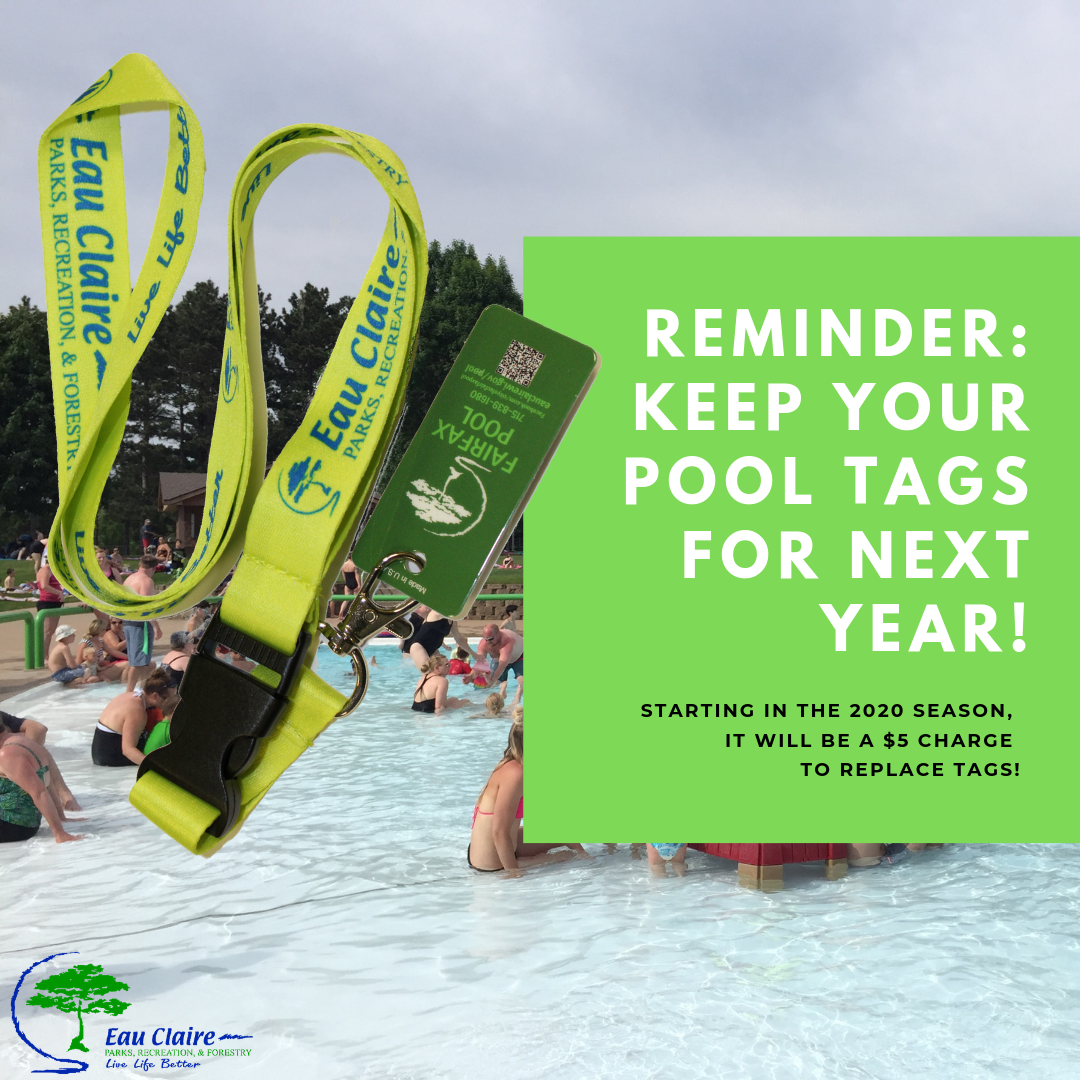 Keep your pool tags! (002)